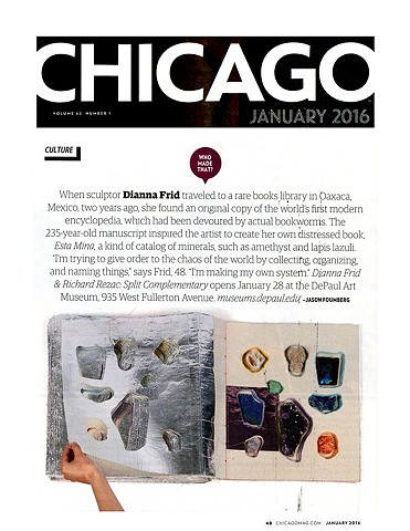 CHICAGO MAGAZINE: WHO MADE THAT?