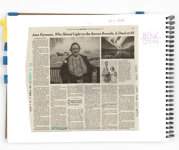 Source for NYT, SEPT 14, 2020, JOAN FEYNMAN