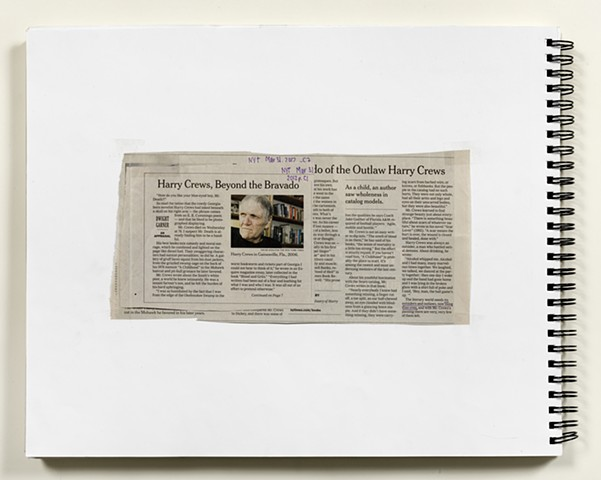 Source for NYT, MARCH 31, 2012, HARRY CREWS