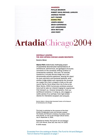 ARTADIA EXHIBITION CATALOGUE