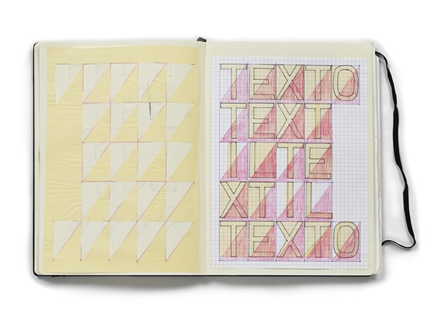 PLAN FOR  Estructura Del Texto (artist's book)