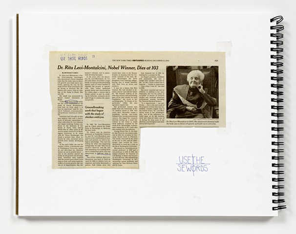 Source for NYT, DEC 31, 2012, DR. RITA LEVI-MONTALCINI