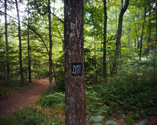 Black Lives Matter, [Robert Frost Trail]