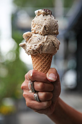 Ample Hills' 'Nonna D's Oatmeal Lace' Ice Cream