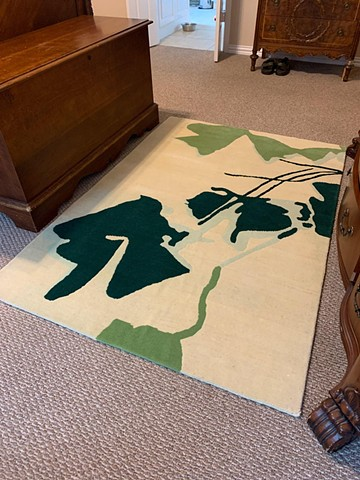 Shamrock Shadows rug