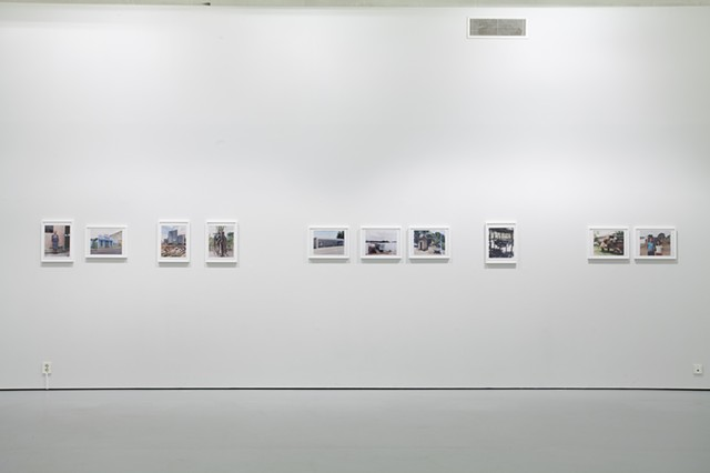 Installation view Telemark Kunstsenter