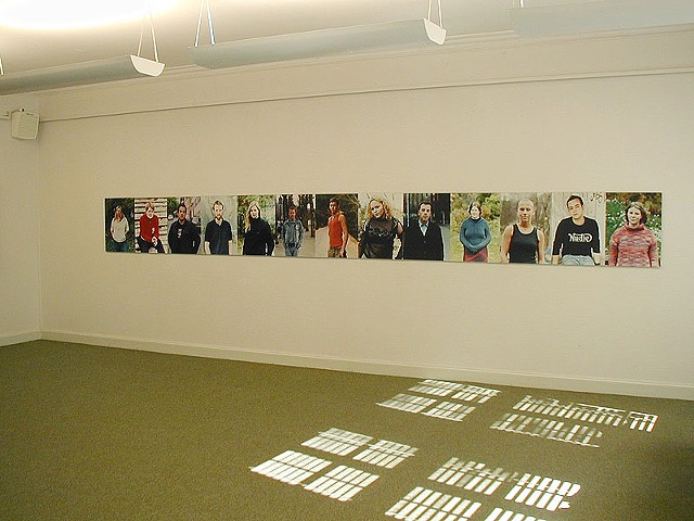 Queer as Folk (2003) - Installation view from Vestlandsutstillingen 2004. Curated by Christel Sverre and Jostein Gripsrud