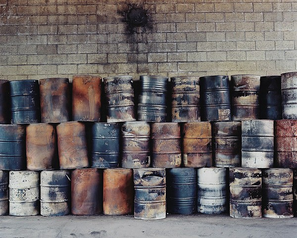 Untitled (Barrels)