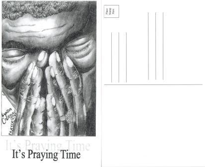 It's Praying Time - Post Card