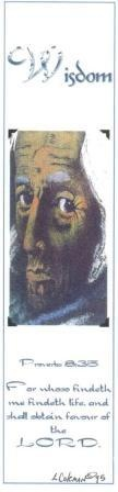 Face Of Wisdom (Bookmark)