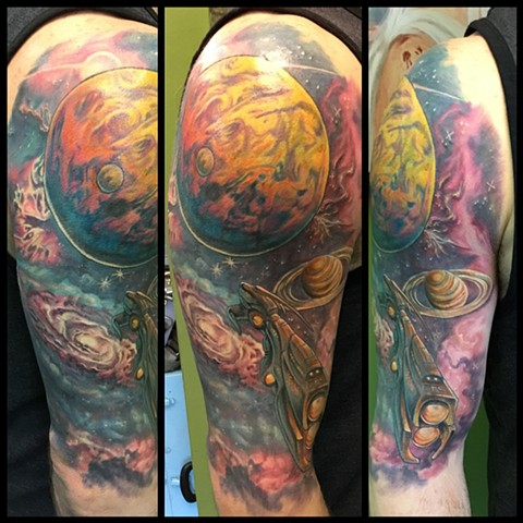 Space cover up