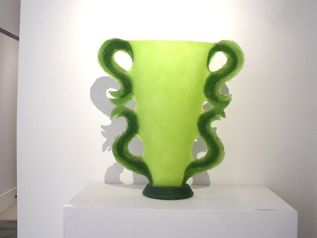 Vase Analogy: Chartreuse/Green