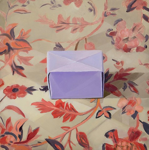 Purple Paper Box
