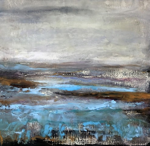 Gina Louthian-Stanley original artwork encaustic