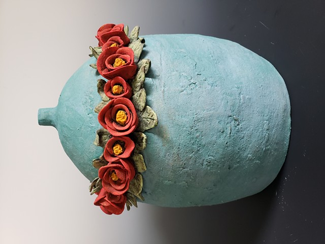 Kim Lashley-Sutliff flower sculpture