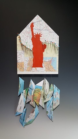 Kim Lashley-Sutliff mixed media sculpture