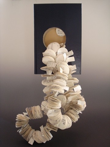 Kim Lashley-Sutliff book sculpture
