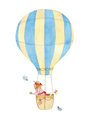 My Friend Hubert and Me: Up Up and Away