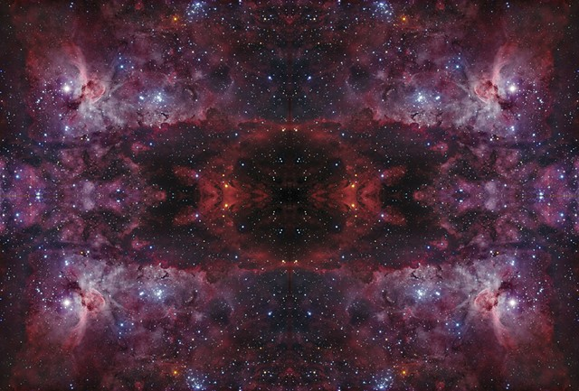 NGC3372 Mandala