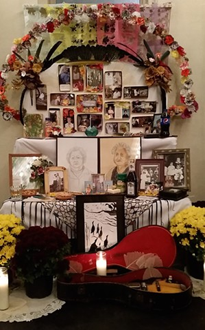 Altar Installation from Cleveland's Dia de Muertos Festival, Featured Artist