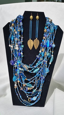 """Blue Grotto"" Necklace"