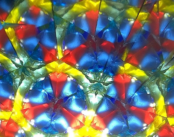 Blue Yellow Red pattern
