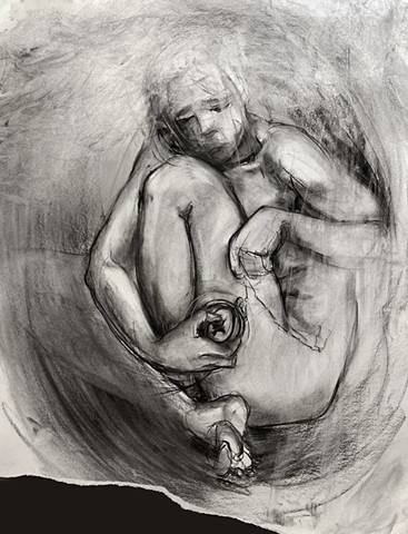 ruptured shelter / figure study