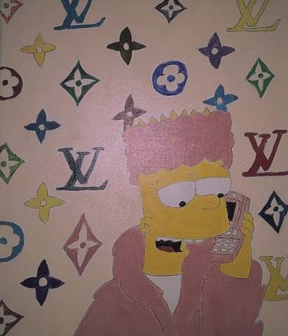 Gangsta Bart Simpson