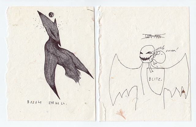 Untitled (2 drawings)