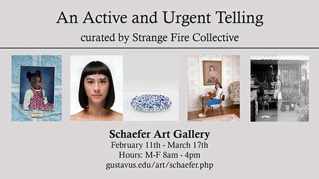 An Active and Urgent Telling curated by Strange Fire Collective