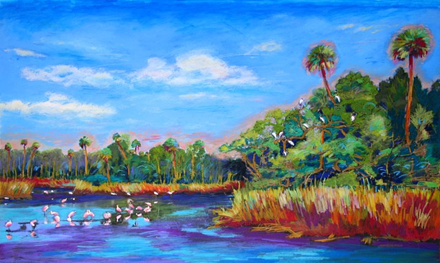 Harriet Huss Tropical Florida landscapes and palms