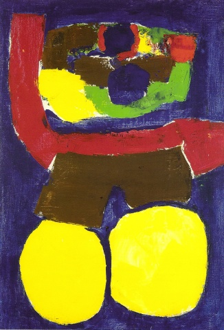 Woman in Yellow c. 1970  100x145cm