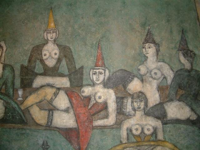 Homage a Villon (Detail) c.1959