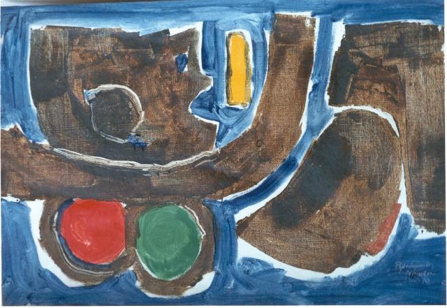 Reclining Figure, 1970  100 x 145 cm