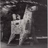 Trojan Horse under the Pont Neuf bridge