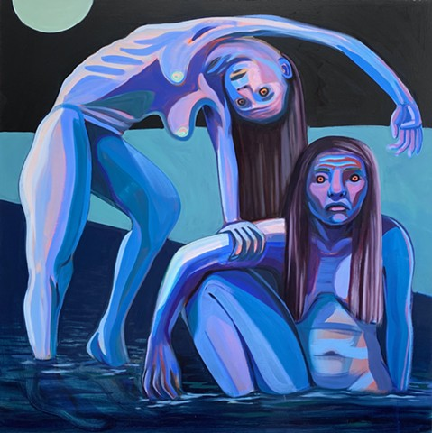 Night Bathers