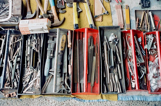 Tools in Trays