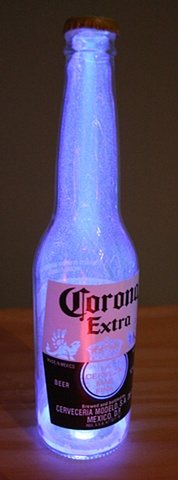 Illuminated Corona Bottle