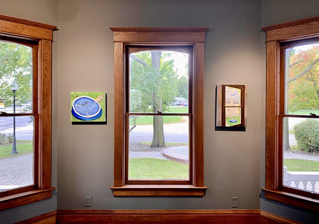 Installation Shot: In A Room With Many Windows