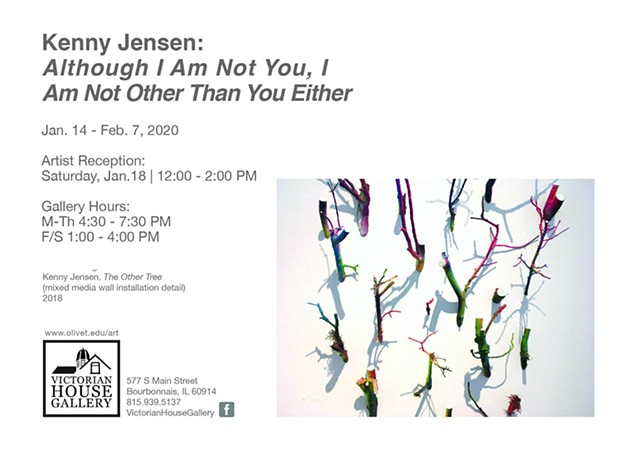 Kenny Jensen: Although I Am Not You, I Am Not Other Than You Either