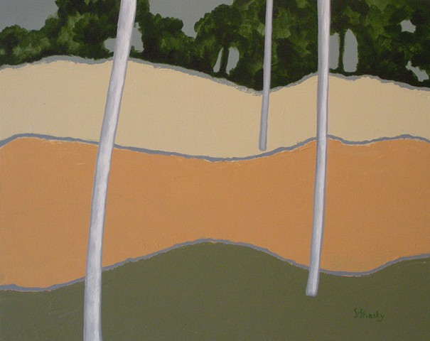 Landscape Abstract -Sold-