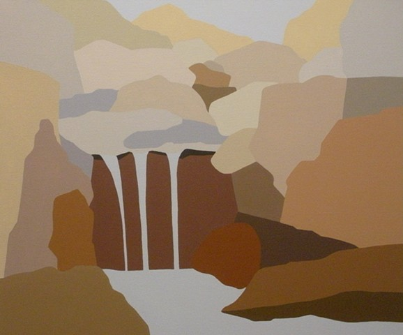 Tranquility Series - Falls #3 -Sold-