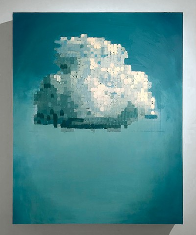 Pixelated Cloud No. 2