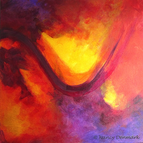 acrylic on canvas painting by Nancy Denmark