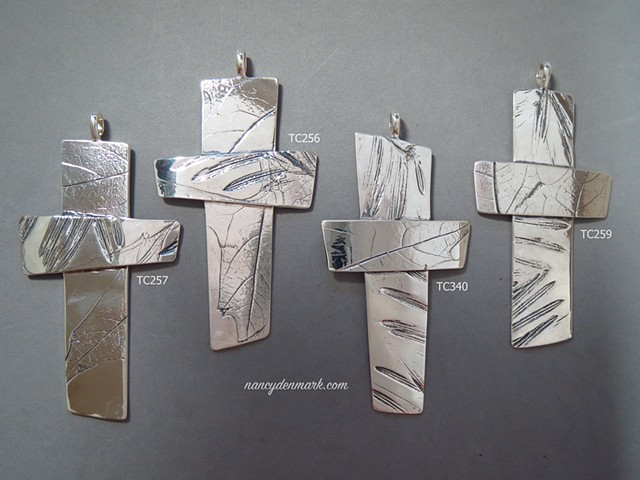 Pectoral Crosses from Nancy Denmark's Impressions of Nature series