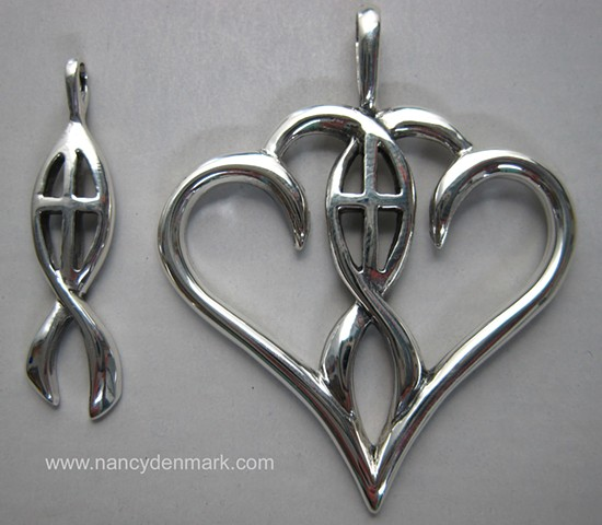 sterling silver jewelry companion designs © Nancy Denmark