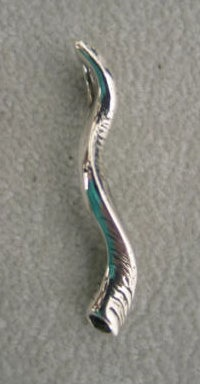 """Blow The Trumpet at Zion"" silver pendant © Nancy Denmark"
