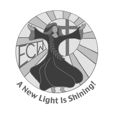 A NEW LIGHT IS SHINING GRAYSCALE LOGO