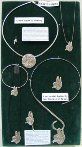 Episcopal Church Women ECW jewelry design Nancy Denmark