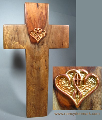One In The Spirit Mesquite Cross made by Nancy Denmark and Margaret Bailey
